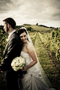 In the Stonyridge Vineyard, on Waiheke Island, New Zealand
