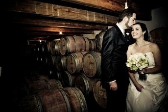 Stonyridge Vineyard wine cellar