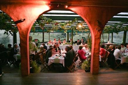 Our reception at Stonyridge Vineyard, Waiheke Island, New Zealand