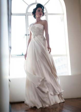 Pearl wedding dress – Pearl Bridal collection