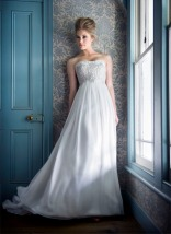 Silver wedding dress – White Bridal collection