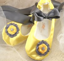 Ballerina flats, by SolBijou on etsy.com