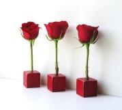 Bud vases, by LynettesArt on etsy.com