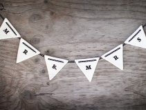 ceramic bunting, by littlewhitebox on felt.co.nz
