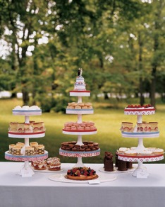 Dessert buffet (via marthastewart.com)