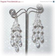 Earrings, by livelovebead on etsy.com