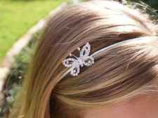 Flower girl headband from missfrilly.co.nz