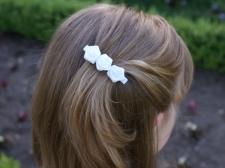 Flower girl rose clip from missfrilly.co.nz