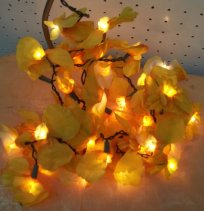 Flower lights, from 2bEtsy on etsy.com