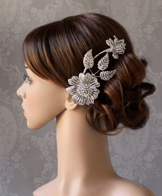 Wedding Hairstyle Jewellery: Hair Jewellery, By Spoiledpretty On Etsy.com