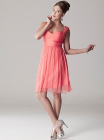 langhem-cara-knee-coral-length-party-dress-exclusive-to-swish