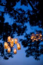 Mason jar chandeliers (via rusticweddingchic.com)