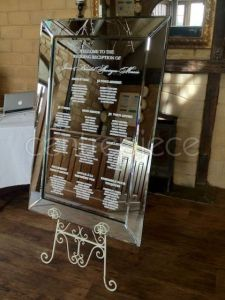 Mirrored seating plan, available on centrepiece.co.nz