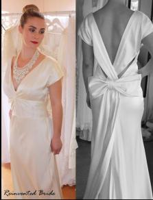 Nicole Miller dress, from reinventedbride.co.nz