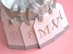 Personalised bridesmaid gift tags, by NinaReneeDesigns on etsy.com