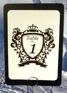 Table numbers, by design4u on etsy.com