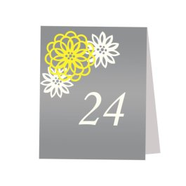 Table numbers, by JulsSweetDesigns on etsy.com
