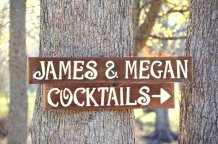 Tree signs, by TRUECONNECTION on etsy.com