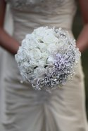 Wedding bouquet, by mathepplestone on etsy.com