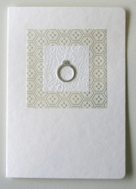 Wedding card, by sbcc on felt.co.nz
