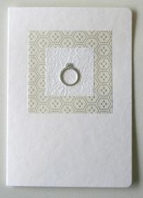 Wedding card, by sbcc on felt.co.nz