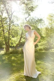 Wedding dress, by rschone on etsy.com