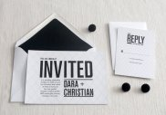 Wedding invitations, by LilacLilyDesign on etsy.com