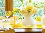 Yellow table numbers, by ZCreateDesign on etsy.com