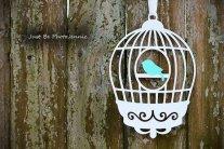 Birdcage decoration, by LittlePixieStix on etsy.com