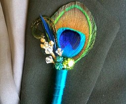 Boutonniere, by WaterMeNot on etsy.com