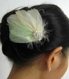 Bridal hair accessory, by exquisitecreations2u on etsy.com
