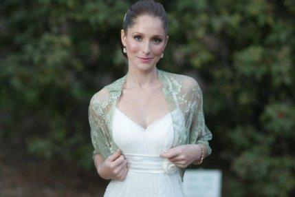 Bridal shrug, by noavider on etsy.com