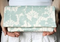 Bridesmaid clutches, by goodmarvin on etsy.com