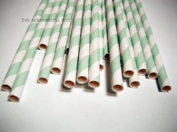 Drinking straws, by legoods on etsy.com