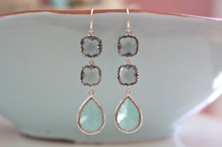 Earrings, by AvaHopeDesigns on etsy.com