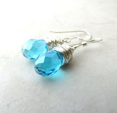 Earrings, by BellinaCreations on etsy.com