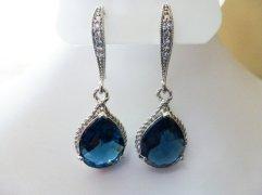 Earrings, by MyTinyStarShining on etsy.com