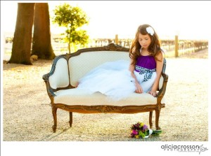 Flower girl dress, by OliviaKateCouture on etsy.com