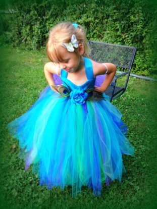 Flower girl dress, by WaterBabyBoutique on etsy.com