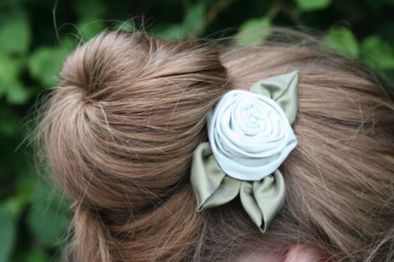 Hair accessory, by flowerchildshoppe on etsy.com