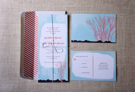 Invitations, by DawnCorrespondence on etsy.com