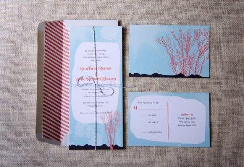 Invitations, by DawnCorrespondence on etsy.com
