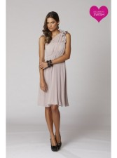 One shoulder Mandy dress, from swishclothing.com.au