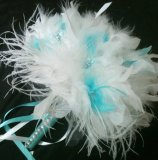 Ostrich feather pen, by kristindangerdesigns on etsy.com
