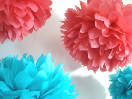 Pompoms, by FiestaPomPom on etsy.com