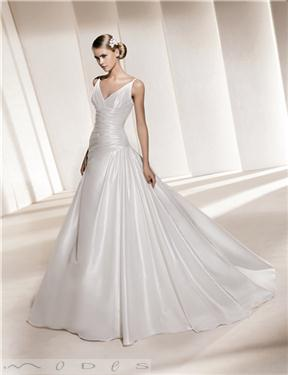 Pronovias dress, available at Modes