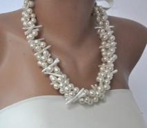 Statement necklace, by kirevi8 on etsy.com