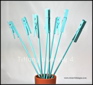 Table number holders, by tricia16designs on etsy.com