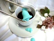 Tiffany blue sugar cubes! By WishingwellArt on etsy.com