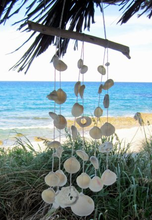 Wind chimes, by swankyturtle on etsy.com